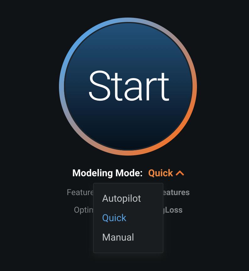 Figure 13. Modeling Modes