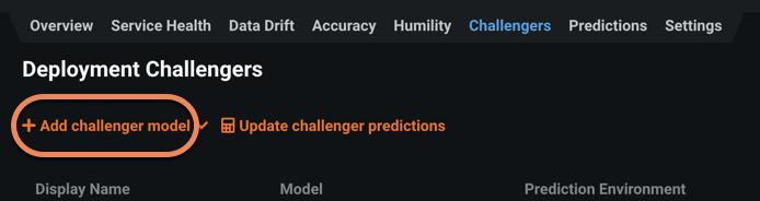Figure 4. Add challenger model