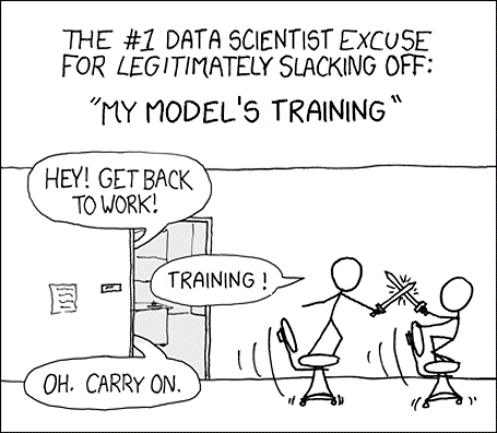 Image credit of XKCD